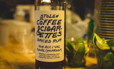 Spiced Hipster Rums - Coffee and Cigarette Spiced Rum is the Ultimate Hipster Drink