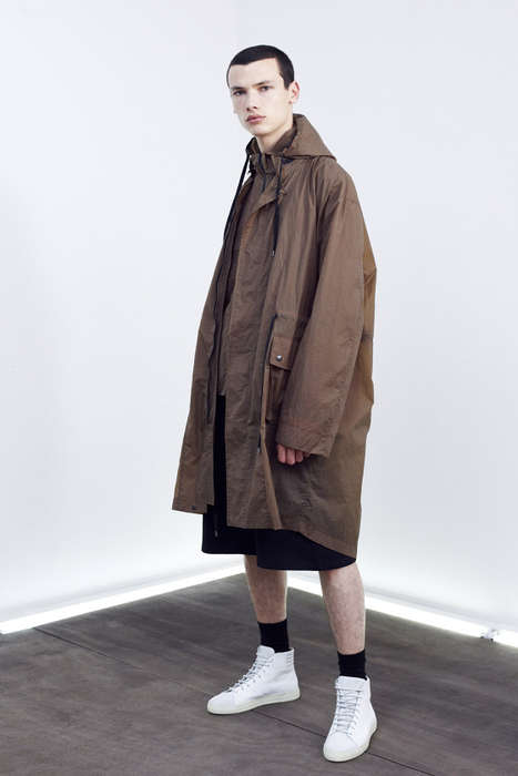Artistically Sculptural Menswear - The Damir Doma SS 2015 Seeks Artistic Inspiration