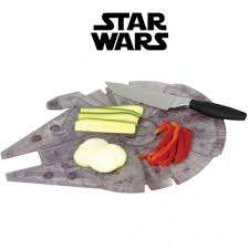 Galatic Chopping Boards - The Millennium Falcon Cutting Board is Perfect for Any Star Wars Fan