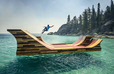 Floating Skateboard Ramps