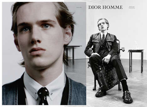 Masculine Performance Photography - Masculinity Was the Focus For Willy Vanderperre For Dior Homme