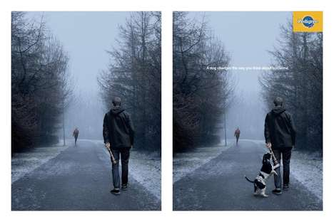 Perspective-Shifting Pooch Ads - These Pedigree Dog Food Ads Show What Good a Dog Can Do