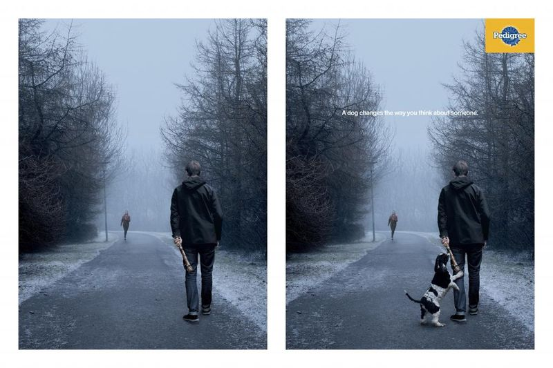 Perspective-Shifting Pooch Ads