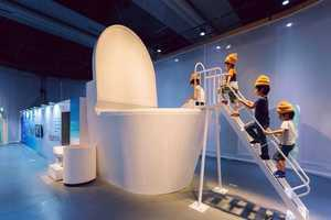 This Japanese Toilet Exhibition Shows Off Everything Bathroom-Related