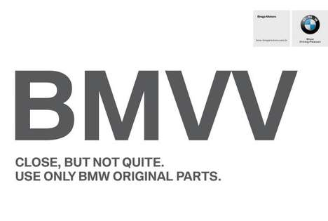 Butchered Auto Brand Ads - This BMW Ad Features a Rendition of