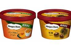 Root Vegetable Ice Creams - Haagen-Dazs Japan is Introducing Sweet Potato and Pumpkin Ice Cream