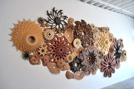 Timber Carved Corals - Joshua Abarbanel
