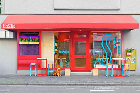Brightly Branded Bistros - Kessalao is a New Restaurant with a Brand New Interior
