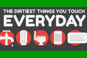 Master Cleaners Lists the Top 10 Dirtiest Things We Touch Everyday