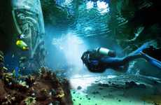 Underwater Theme Parks - The Pearl of Dubai is Set to Be the World's Largest Undersea Park