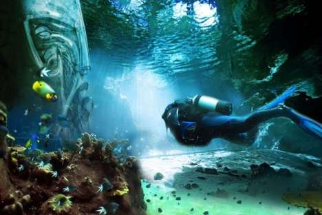 Underwater Theme Parks - The Pearl of Dubai is Set to Be the World