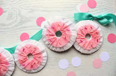 Papery Donut Decorations