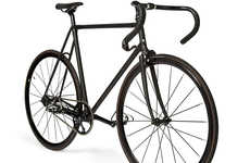 Fashionable City Bikes - The Paul Smith 531 is a Sleek Fixed Gear Bike for City Cyclists