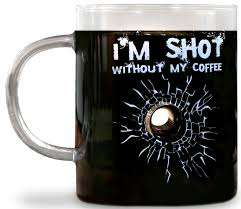 Bullet Hole Coffee Mugs - The I