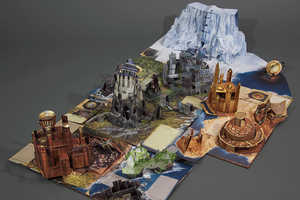 The Pop-Up Guide to Westeros Captures the Dynamic Game of Thrones World