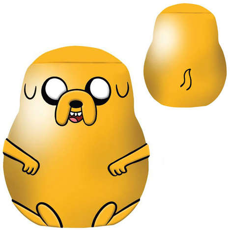 Adventurous Amorphous Cookie Cannisters - This Adventure Time Cookie Jar is Shaped Like Jake the Dog