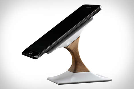 Sustainable Sophisticated Chargers - The Swich Wireless Charger is Viewer-Friendly from All Angles