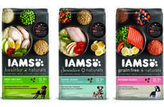 Wholesome Pet Food Packaging - Iams Healthy Naturals Pet Food Packaging Lays Out All Its Ingredients