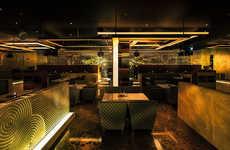 Modern Japanese Lounges - The Sake No Hana Dubai Restaurant Celebrates Contemporary Japanese Cuisine