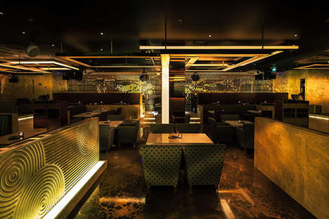 Modern Japanese Lounges - The Sake No Hana Dubai Restaurant Celebrates Contemporary Japanese Cuisine