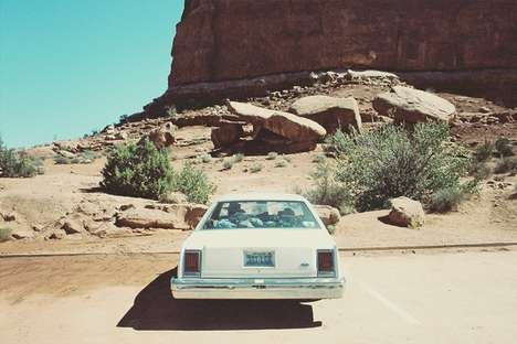 American Roadtrip Editorials - Luke Byrne and Ryan Kenny Went on a Stateside Joy Ride