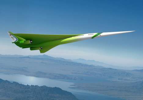Powerful Sustainable Superjets - Research for Nasa
