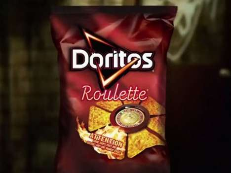 Surprisingly Spicy Chips - Doritos Roulette Reveals a Hot Chip Surprise in Every Bag
