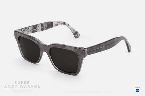 Pop Artist Sunglasses - These Andy Warhol Products Feature the Iconic Artist