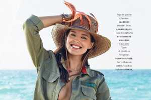 Emily DiDonato Stars in the Elle France July 2014 Cover Feature