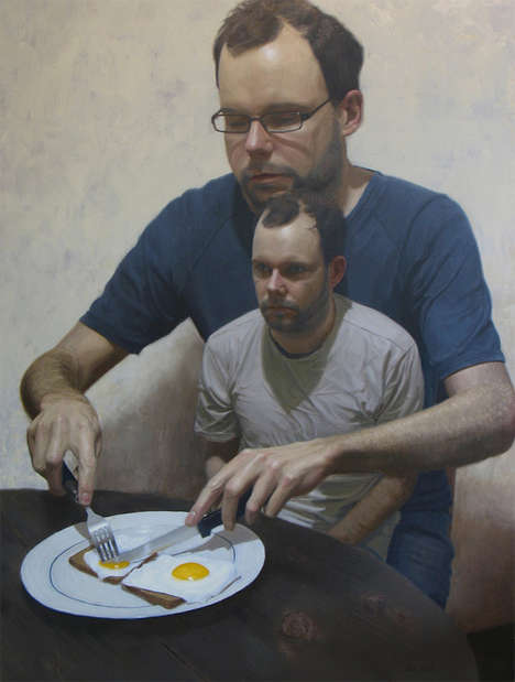 Bizarre Personality Paintings - Ben Smith