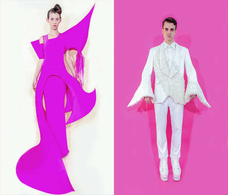 50 Wearable Art Examples - From Sculptural Origami Menswear to Paper-Made Cutout Couture