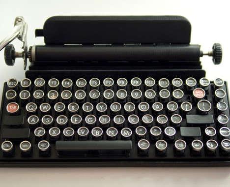Nostalgic Typewriter Keyboards