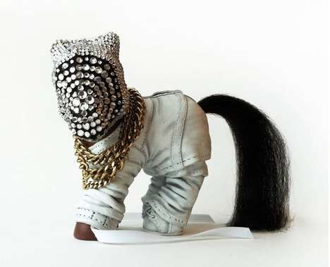 Rapper Pony Toys - My Little Kanye West by Mari Kasurinen is a Dubious Tribute