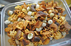 Ramen Trail Mixes - This Crunchy Ramen Snack Mix is Made from Dehydrated Instant Noodles