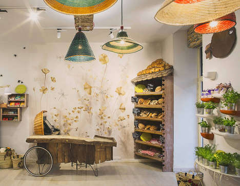 Farmer Market Eateries - This Rustic Restaurant Interior is Dreamy and Bohemian