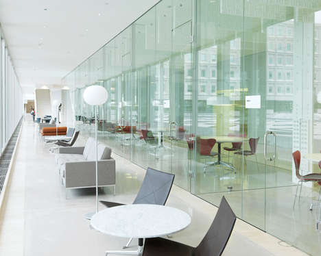 Symbolic Office Redesigns - The 3M Headquarters are Updated to Show Transparency