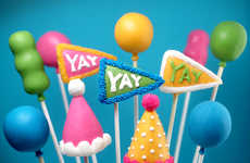 Decorative Party Pops - These Party Cake Pops by Bakerella are a Great Birthday Cake Alternative