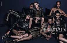 The BALMAIN Paris Fall/Winter 2014 Campaign Channels a Hip-Hop Vibe