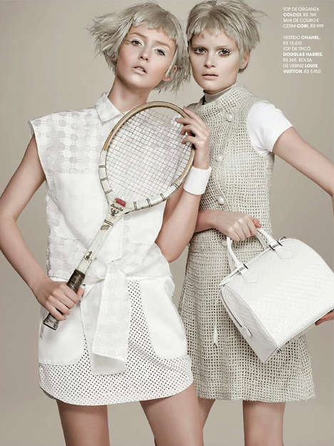 25 Tennis-Themed Fashion Finds - From Luxe Designer Racquets to Wimbledon 2014 Worthy Editorials