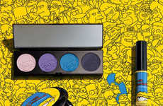 Cartoon Character Cosmetics - The Marge Simpson x MAC Collection is Full of Bold Color Hues