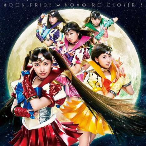 Cosplayer CD Covers - The Moon Pride CD for Sailor Moon Crystal Has a Cosplaying Girl Group
