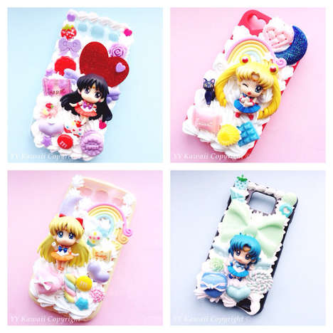 90s Cartoon Tech Cases - These Custom Sailor Moon Phone Protectors Celebrate the Show