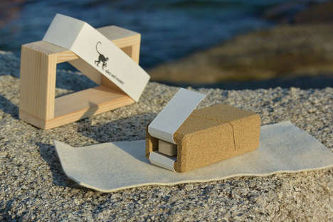 Sandy Packaging Concepts - This Sand Box Packaging is All Natural and Super Sustainable