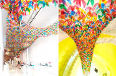 Technicolor Floral Canopies