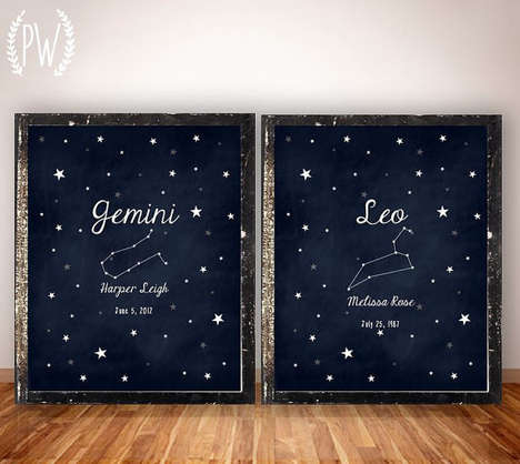 Charming Astrology Artwork - Etsy