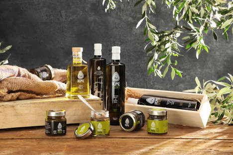 Holistic Oil Branding - Packaging for HOME by Nature Olive Oil Products Shares Its Philosophy