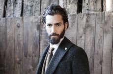 Debonair Gentleman Catalogs - The Luigi Bianchi Mantova Fall/Winter 2014 Collection is Elegant