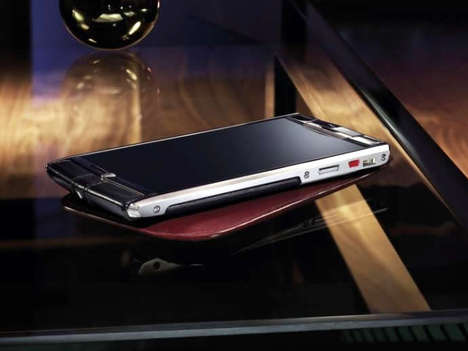 Extravagant Automotive Phones - The Bentley Vertu Signature Touch Luxury Phone Costs $11,000