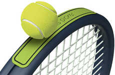 Tennis Ball Grabbers - The Tennis-Picker Was Inspired by the 2014 Wimbledon Championships