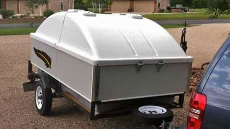 Compact Pop-Top Campers - The Tail Feather MINI Camper is Affordable, Compact & Easy to Assemble